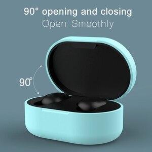Image 3 - Étui en Silicone souple antichoc pour écouteurs Bluetooth pour Xiaomi Redmi Airdots Tws Air Dots casque sans fil oreille téléphone