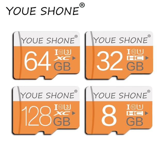 Free Shipping Micro SD Memory Card High Speed Smartphone Flash Card 8GB/16GB/32GB/64GB/128GB Class 10 Memori Micro SD Card