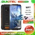OUKITEL WP7 8 ГБ + 128 ГБ 8000 мАч 6,53 ''инфракрасный Ночное видение мобильный телефон 48MP тройные камеры, четыре ядра, смартфон повышенной прочности
