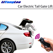 LiTangLee רכב חשמלי זנב שער הרם שער לסייע מערכת לאאודי A6 C7 4G 2012 ~ 2018 שלט רחוק מכסה תא מטען