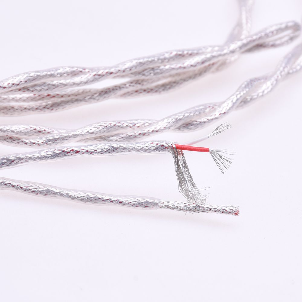 Clear Silver Plated Shield Cable for Mytek Brooklyn DAC 2 1//4 6.35mm Male to 4-pin XLR Female Balanced Adapter