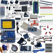 Kit de démarrage ultime pour Arduino UNO R3 1602 LCD servomoteur Breaddboard LED