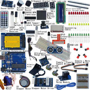 Image 1 - Ultimative Starter Kit für Arduino UNO R3 1602 LCD Servo Motor Breaddboard LED