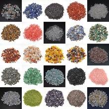 50g/100g cristalli naturali ghiaia campione sfuso pietre burattate rocce e minerali guarigione pietre preziose grezze decorazione acquario