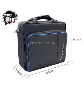 Image 2 - PS4 プロスリムゲームの Sytem 旅行バッグキャンバスケース保護ショルダーキャリーバッグハンドバッグプレイステーション 4 コンソールとアクセサリー