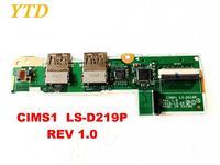 레노버 CIMS1 USB 보드 CIMS1 LS-D219P REV 1.0 용 오리지널 무료 배송 테스트