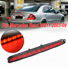 For Mercedes-Benz E-Class W211 2003-2009 Car LED Three-speed Brake Tails Light ABS Plastic+PC 12V