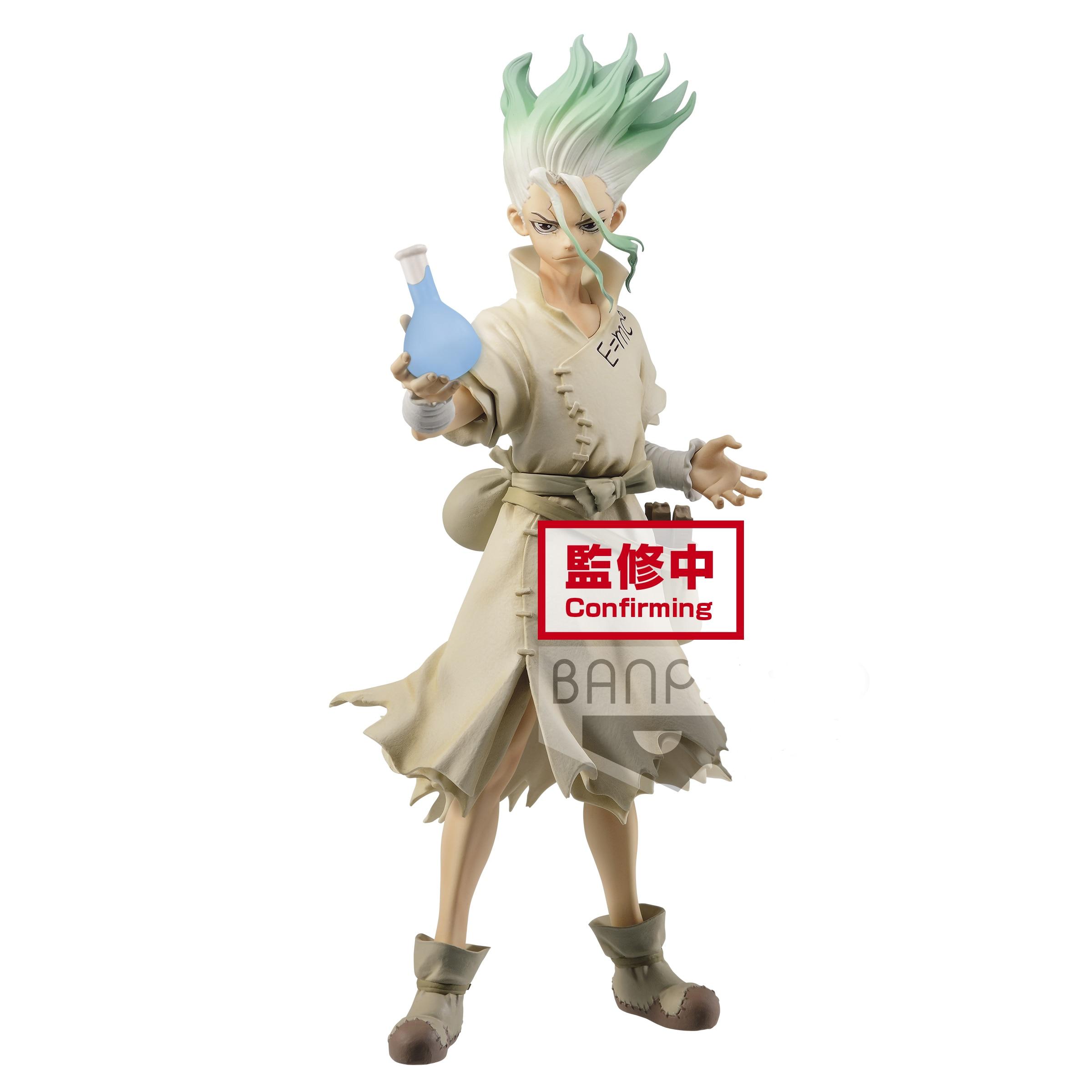 Presale May Banpresto Dr.STONE FIGURE Of STONE WORLD SENKU ISHIGAMI PVC Action Figure Model Figurals