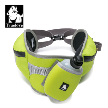 Truelove Multifunctional Waist Bag With Dog Water Bottle Outdoor Motion Reflective Strip portable Backpack Pet Products TLB2151 1