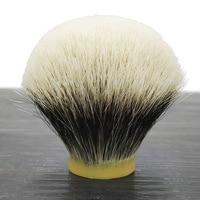 dscosmetic dense geltip hook Manchuria finest two badger hair shaving brush knots