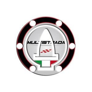 Image 5 - Motorcycle 3D Gel fuel oil Tank Pad Protector Sticker Fish Bone Sticker for DUCATI Multistrada 1200 1260 ENDURO decorative decal