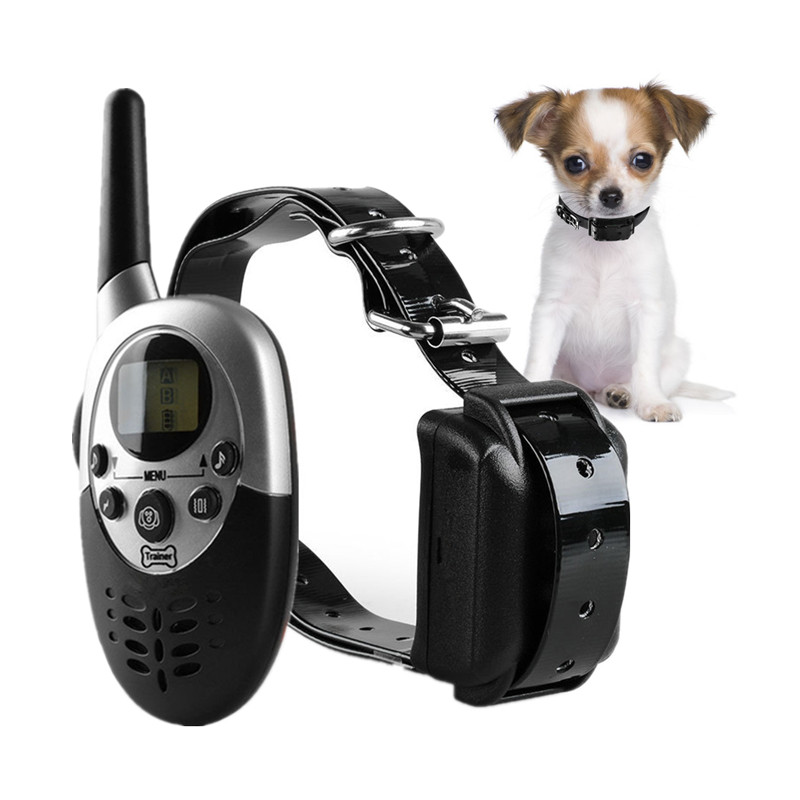 1000m Waterproof Electric Dog Training Collar with Remote Control and Rechargeable Battery 7