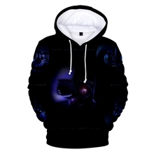 New FiveNightsatFreddy Mens 3D Print Hoodie Fashion Trend Casual FiveNitstat Freddy Sports