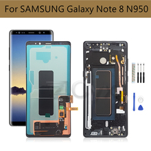 For Samsung Galaxy Note 8 LCD N950F N950FD N950U Display Touch Screen Digitizer assembly For Samsung note8 Display Burn Shadow