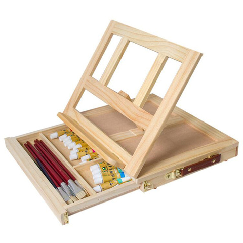 pintura multifuncional cavalete artista mesa cavalete portatil