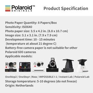 Image 2 - Новая Подлинная пленка Polaroid Originals Instant I type цвета и черно белого цвета для камеры Onestep2VF Instax