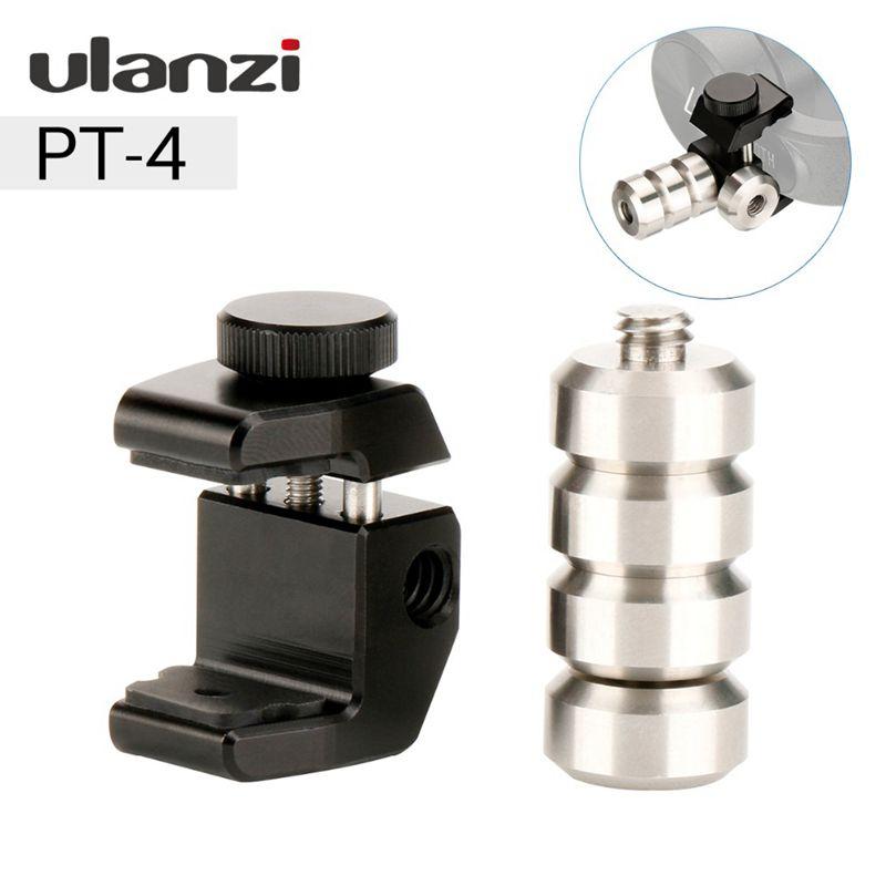 Ffyy-ulanzi 60g cardan contrepoids pour Dji Osmo Mobile 2 lisse 4 Vimble 2 stabilisateur Moment anamorphique lentille Blance plaque pour