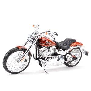 Image 5 - Maisto 1:12 2014 Sportster Ferro 883 Dyna Street Glide Road King CVO Breakout Electra Glide Pressofuso In Lega Modello di Moto Giocattolo