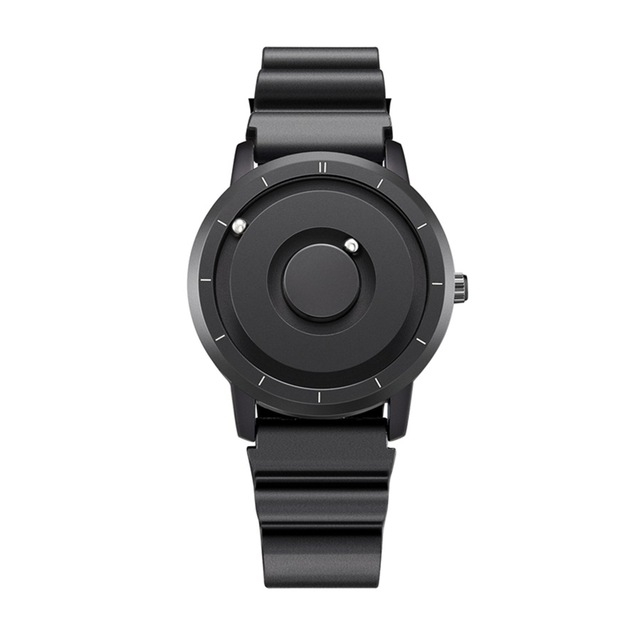 EUTOUR New Innovative Blue Gold Magnetic Metal Multifunctional Watch Men's Fashion Sports Quartz Watch Simple Men's Watch 20