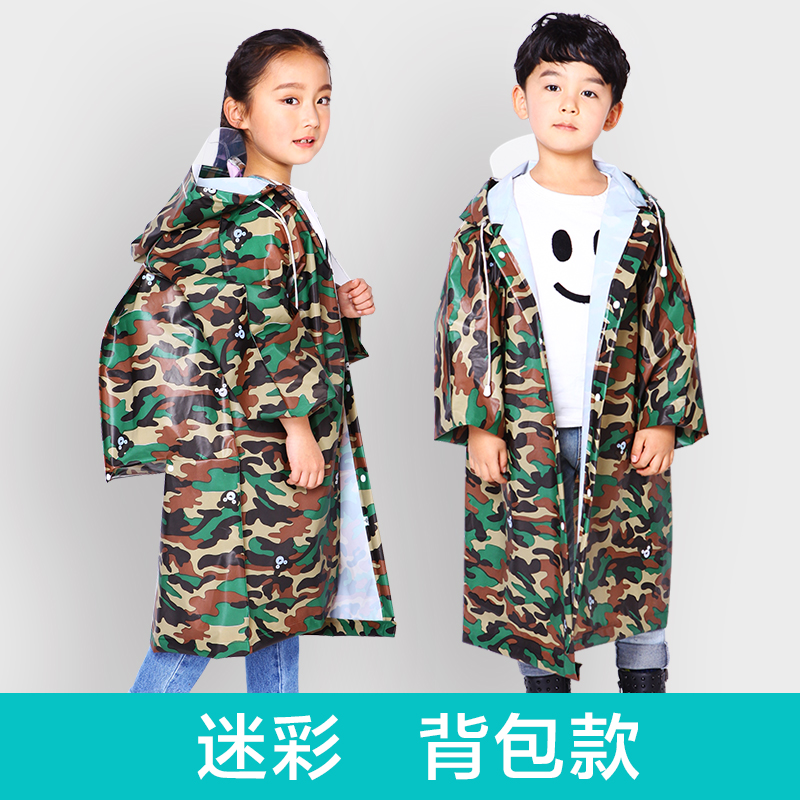 Portable Waterproof Raincoat Women Plastic Travel Ladies Hooded Raincoat Long Stylish Chubasquero Mujer Child Rain Coat OO50YY