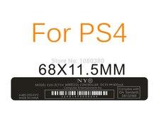 PS4 컨트롤러 레이블에 대 한 PS4 수리 부품에 대 한 5pcs 그립 스티커 다시 Paster Lable