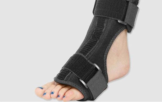 A gota do pé orthoses tornozelo apoio ortopédico parcial dia e noite com engrenagem de apoio suficiente entrou em colapso na recuperação 5