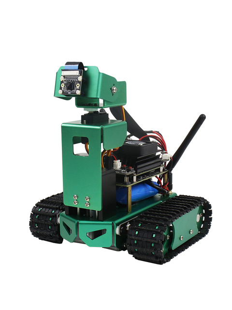 JETBOT 인공 지능 자동차 Jetson 나노 비전 AI 로봇 자동 조종 장치 개발 보드 키트
