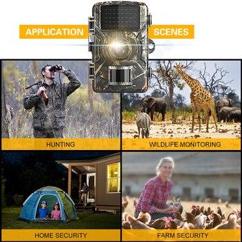 New 12MP 1080P Trail Hunting Camera Wildcamera Wild Surveillance 2''TFT Night Vision Wildlife Scouting Cameras Photo Traps Track 4