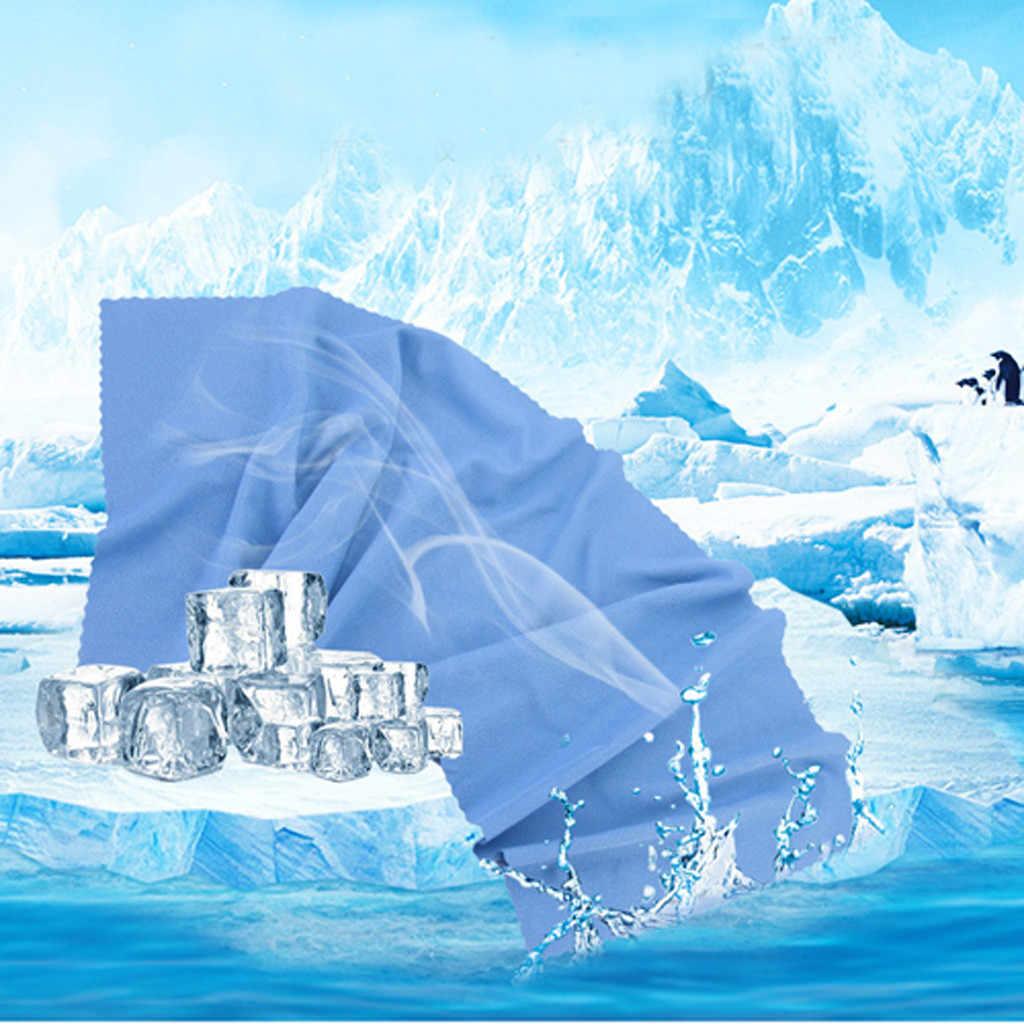 Szybko schnące ręczniki szybkoschnący chłonny Ultra kompaktowy ultralekki chłodny na siłownię z mikrofibry sport podróżny ręcznik do twarzy i rąk полотенце # L5