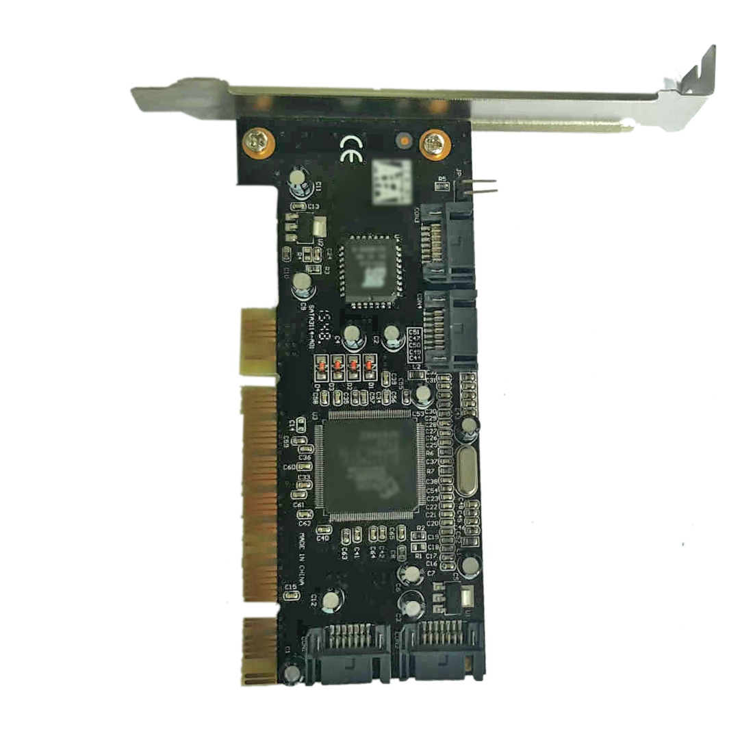 Computer PCI Add On Card 4 Ports SATA For Sil 3114 Chipset RAID 1.5Gbps Expansion Controller Card For PCI Standard 2.3 Desktop