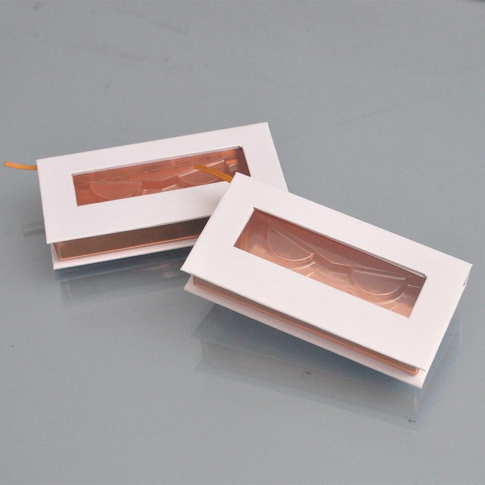 50 unidades pacote atacado cilios posticos caixa de embalagem caixas de chicote logotipo personalizado falso cils