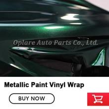 Höchste qualität metallic vinyl wrap gespenst grün vinyl wrap gloss metallic farbe vinyl wrap qualität Garantie 5m/10m/18m neue farbe