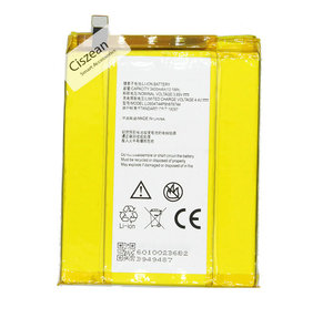 1x Li3934T44P8h876744 3400mAh Phone Replacement Battery For ZTE Grand X Z988 Max2 ZMAX PRO Z981 Batteries(China)
