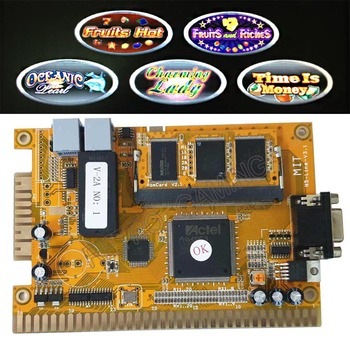 Casino Game Motherboard Gaminator 5 In 1 VI Lottery Game PCB for Slot Game Machine