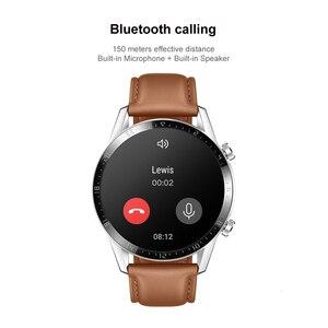 Image 4 - Huawei reloj inteligente Watch GT 2, Original, con Bluetooth 5,1, oxygen tracker, 14 días de batería, llamadas, control del ritmo cardíaco