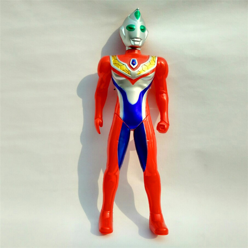 Manufacturers Direct Selling 699-2 Large Size Electric Superman Toy Electric Flash Sound Making Linyi Universe Superman
