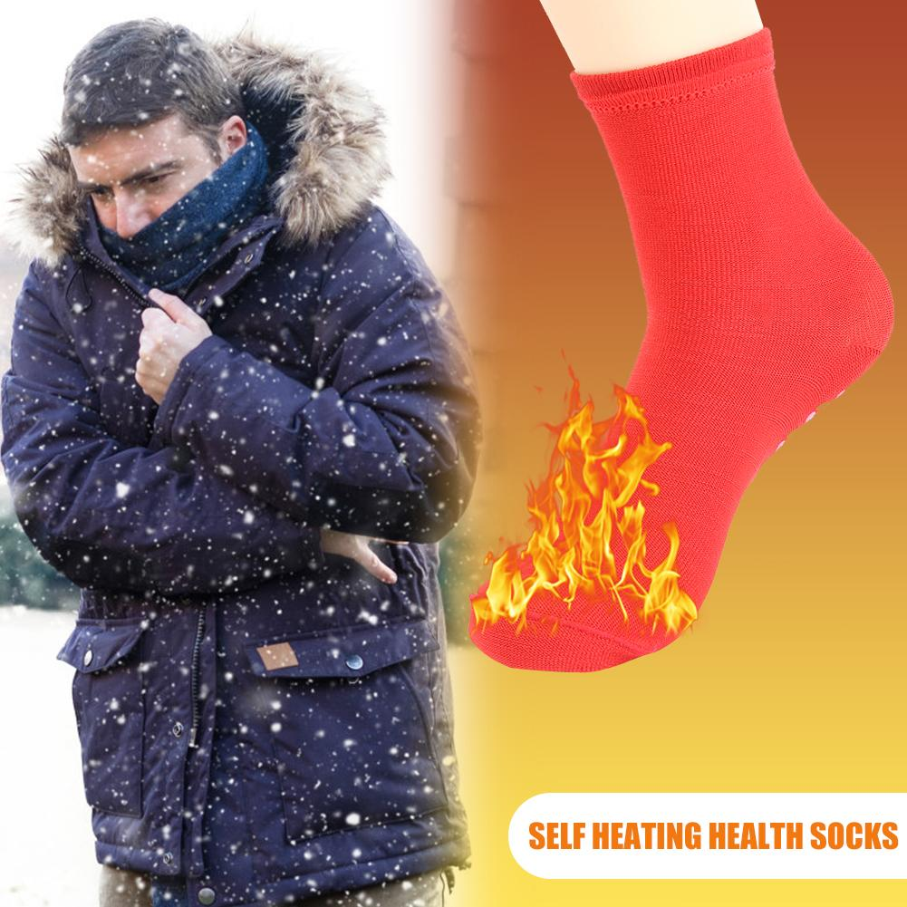 Magnetic Socks Massager Tourmaline Self-Heating Breathable Winter Foot-Care-Supply Health-Care