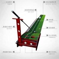 PGM kapalı Golf vuruş uygulama Golf atıcı salıncak Mat Fairway 3 metre egzersiz battaniye seti 12 topları Golf Golf aksesuarları