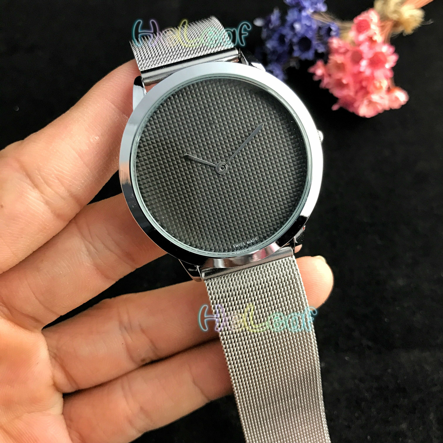 Luxury Reloj Mujer Hot Sale Newest Top Men Silver Gold Steel Brand Quartz Watch Male Black Clock Montre Femme Relogio Feminino