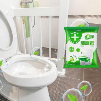Akcesoria kuchenne urządzenia do oczyszczania automatyczne Flush środek czyszczący do wc odplamiacz toaleta spłukiwana czyste zielone Bubble toalety spłukiwanej tanie i dobre opinie Żel 1 pc Inne