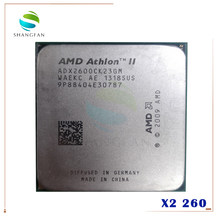 AMD Athlon II X2 260 3.2GHz Dual-Core procesor CPU ADX260OCK23GM gniazdo AM3 938pin(China)