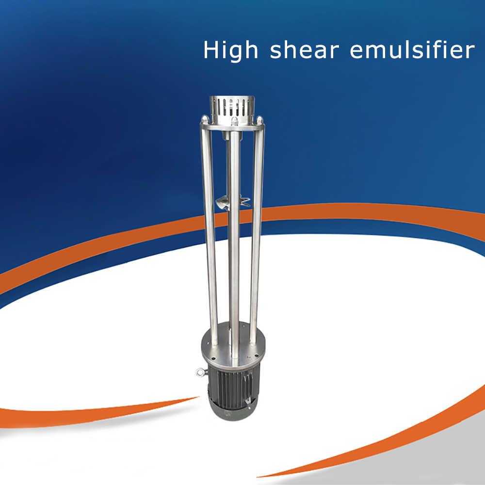 4KW 220V высоким сдвиговым усилием однородной эмульсии мелкое лабораторное эмульгатора малый насос для гомогенизатора WRL-120