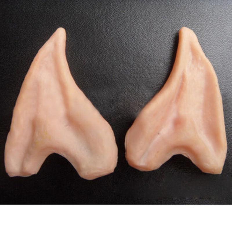 Halloween Party Cosplay Ear Spock Alien Vulcan Elf Prosthetic Latex Ears Costume