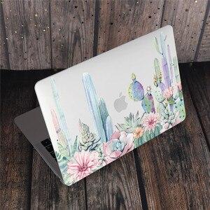 Image 4 - Coque de clavier à motifs de fleurs de marbre pour ordinateur portable MacBook Pro, pour MacBook Pro 13, 2019, Air 2020, 15 pouces, Retina Touch Bar A2251 A1932
