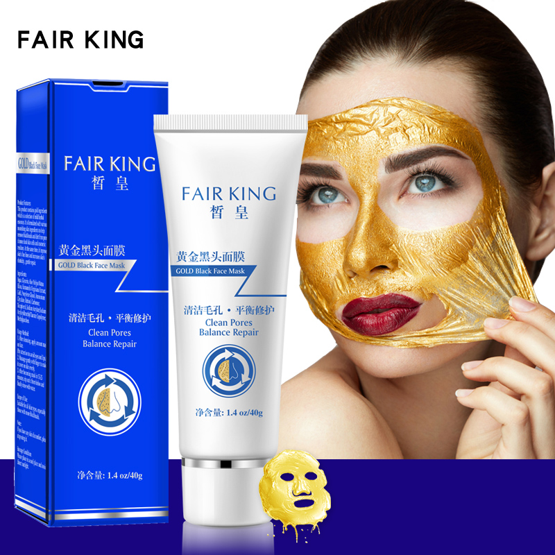 Skin Care Gold Blackhead Mask Treatment Peel Off Purifying Blackhead Remover Facial Mask Acne Tea Tree Deep Cleansing Wrinkles