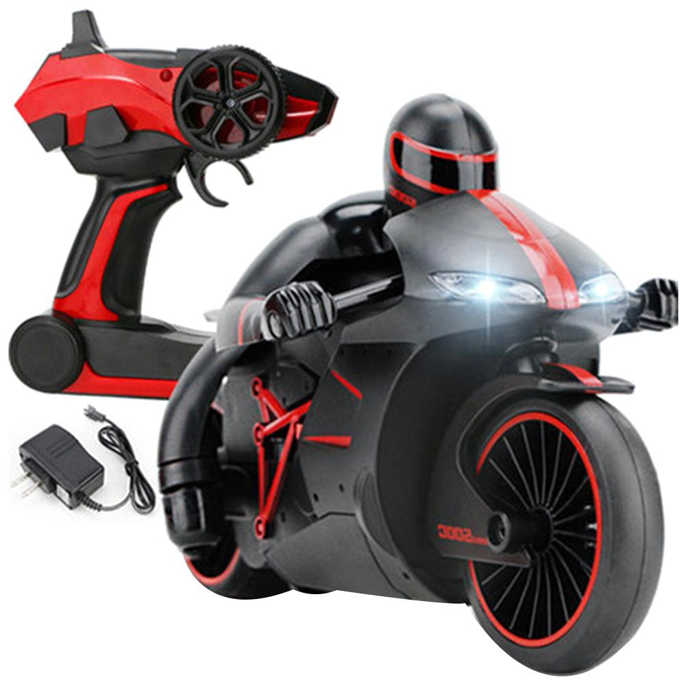 2.4G Mini Fashion Rc Motorcycle With Cool Light High Speed Rc Motorbike Model Toys Remote Control Drift Motor Toys For Kids Gift