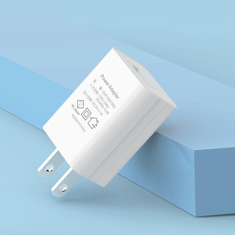 5v1a carregador do telefone móvel 220v 1000ma carregador usb fonte de alimentação carregador rápido para japão fornecimento apenas
