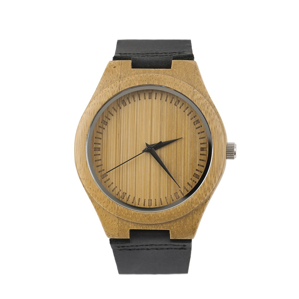 OUTAD Unique Vintage Wooden Dial Watch Quartz Watches Men Women Couple Wrist Black Pointer Valentine's Day Gifts For Relogio New