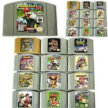 Carte de jeu Pokemon Mario Party N64, carte de jeu vidéo Nintendo 64, Console MARIO PARTY 2 ZELDA OCANIEN OF TIME, Version américaine, cartes anglaises