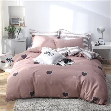 1 Piece  Duvet Cover With Zipper Cotton Quilt Or Comforter Or Blanket Case Pastoral Printing Twin Full Queen